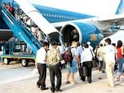越南乘坐飞机人数继续猛增