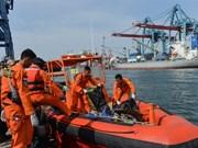印尼客机坠海事件:佐科总统慰问遇难者家属
