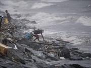"""菲律宾台风""""玉兔""""登陆 万人被迫疏散"""