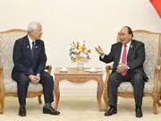 越南政府总理阮春福会见日本兵库县知事井户敏三