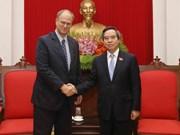 阮文平会见德国驻越南大使克里斯蒂安·伯杰