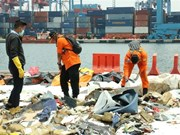 印尼客机坠海事件:飞机黑匣子仍保留完整状态