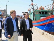 欧洲议会渔业委员会对海防市进行工作访问
