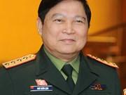 越南高级军事代表团对澳大利亚和新西兰进行正式访问