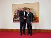 越南与德国着力加强外交关系