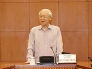 阮富仲:战略级干部队伍建设规划制定工作需谨慎、民主和公开