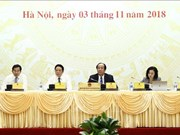 越南政府10月份例行会议:不要因取得一点成就而骄傲