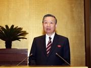 越南第十四届国会第六次会议:重点讨论延长《对入境越南的外国人试行签发电子签证》决议的期限