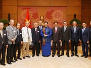 国会常务副主席丛氏放会见日本自由民主党前议员协会主席团