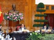 阮春福总理就BOT项目主持召开政府常务会议