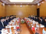 越共中央经济部同中国国务院发展研究中心加强交流与合作