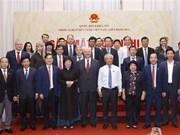 国会副主席汪周刘会见越俄友好议员小组