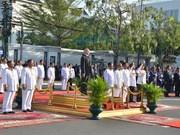 柬埔寨隆重举行国庆65周年庆祝活动