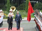 古巴媒体纷纷报道古巴国务委员会主席兼部长会议主席迪亚斯-卡内尔访越之旅