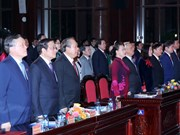 阮氏金银出席2018年越南法律日响应活动