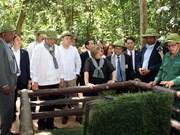 古巴国务委员会主席兼部长会议主席迪亚斯-卡内尔圆满结束对越南进行的正式友好访问