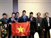 越南学生获得国际天文与天体物理奥林匹克竞赛金牌