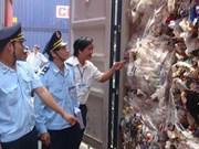 越南颁布关于暂时停止经营、暂进再出口、转口废料名单的规定