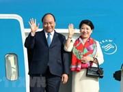 阮春福启程前往新加坡出席第33届东盟峰会