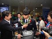 越南为国际天文与天体物理奥林匹克竞赛获奖者颁发奖状
