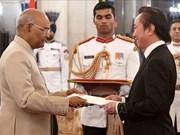 """印度总统:越南始终是印度""""东向行动政策""""中的重要支柱"""