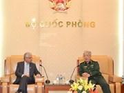 越南国防部领导人会见联合国常驻越南协调员卡玛勒•马特拉