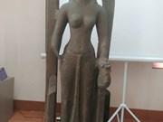 萨罗斯瓦蒂女神雕像首次亮相越南