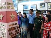 """""""黄沙长沙归属越南""""地图资料展在薄辽省举行"""