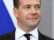 俄罗斯总理梅德韦杰夫开始对越南进行正式访问