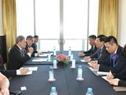 越南外交部副部长范平明会见新西兰副总理兼外长