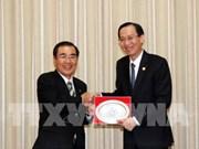胡志明市与日本鹿儿岛市加强合作