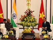 岘港市委书记张光义会见印度总统拉姆·纳特·考文德