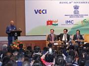印度总统出席越印企业论坛