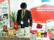 越南企业参加2018年印尼国际食品展