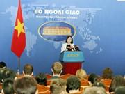 越南要求中国台湾停止在巴平岛周边进行的实弹演习