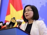 外交部副发言人阮芳茶:东海上的油气合作需符合1982年《联合国海洋法公约》