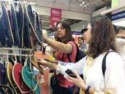 第18届越南皮革、制鞋、纺织业国际展览会在胡志明市开展