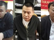 越南协助中国逮捕三名国际通缉犯