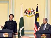 马来西亚与巴基斯坦两国总理会谈 促进双边关系的发展
