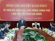 阮春福:茶领—同登高速公路建设项目开辟高平省发展新方向