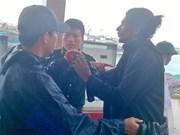 海上遇险的一名印度籍船员获及时救治
