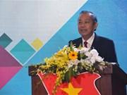 越南政府副总理张和平:越南党和政府十分重视引进青年人才