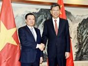 越南与中国加强金融合作