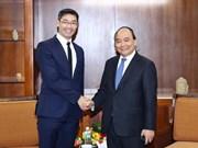 政府总理阮春福会见德国前副总理菲利普·勒斯勒尔