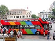 免费体验首都河内双层观光巴士