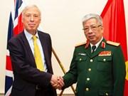 第一次越英防务政策对话在英国举行