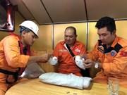 庆和省芽庄市成功将一名外籍受伤船员安全送岸就诊