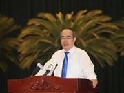 越共胡志明市第十届委员会第22次全体会议落幕