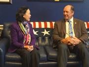 美国议员:美国愿与越南加强全面合作