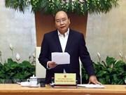 越南政府总理阮春福:力争2019年经济增速达到6.8%